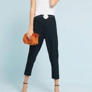 Anthropologie  Black The Essential Pull On Trouser